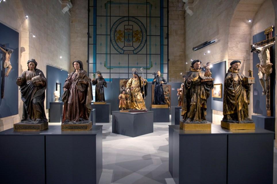 Exposición de imágenes religiosas en Alcalá la Real (Jaén). EFE/José Manuel Pedrosa