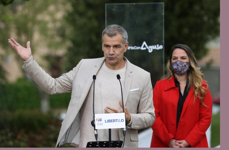 Toni Cantó, en un acto electoral del PP. EFE/ Juanjo Martín