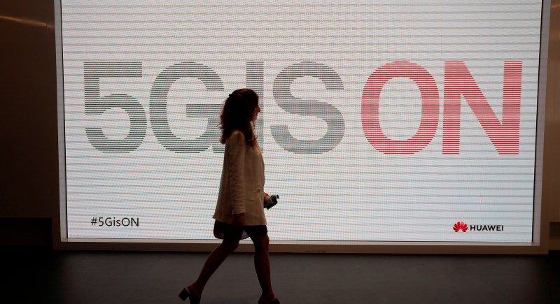 "Foto del evento de Huawei en Madrid ""5G IS ON"" en 2019. EFE/Archivo/Emilio Naranjo"