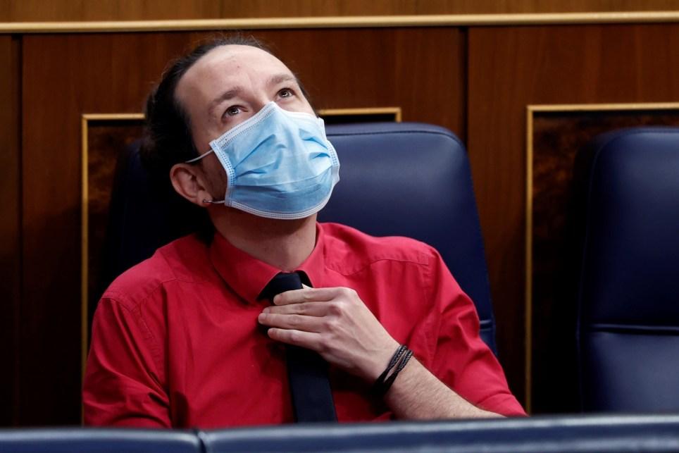El líder de Podemos, Pablo Iglesias, en el Congreso de los Diputados cuando aún era vicepresidente del Gobierno. EFE/Mariscal