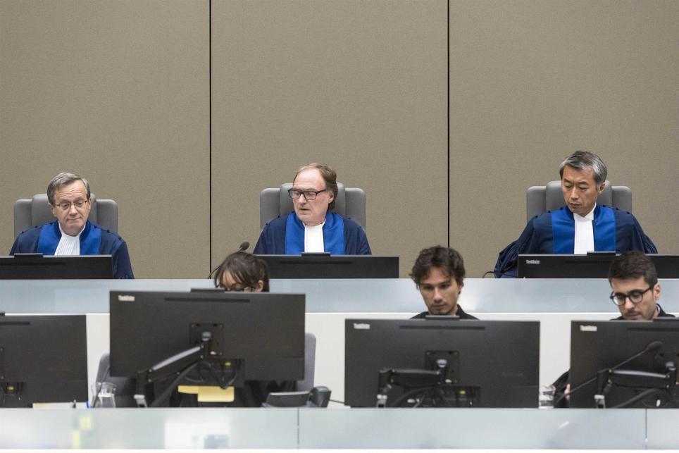 Jueces de la Corte Penal Internacional de La Haya. EPA/Evert Elzinga