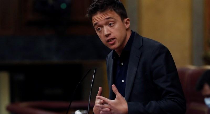 El presidente de Más País y diputado en el Congreso, Íñigo Errejón. EFE/ J.J. Guillén
