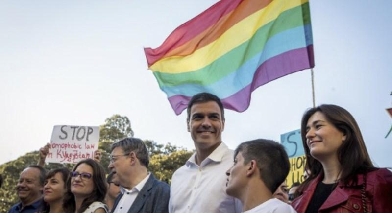 Orgullo LGTBI Pedro Sánchez tuit sátira gais