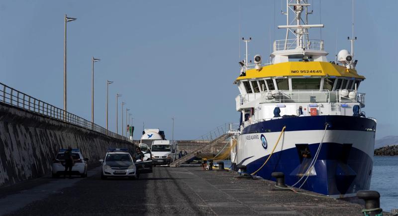 Anna Olivia Tomás Gimeno Tenerife violencia vicaria machista buque oceanográfico Ángeles Alvariño Guardia Civil
