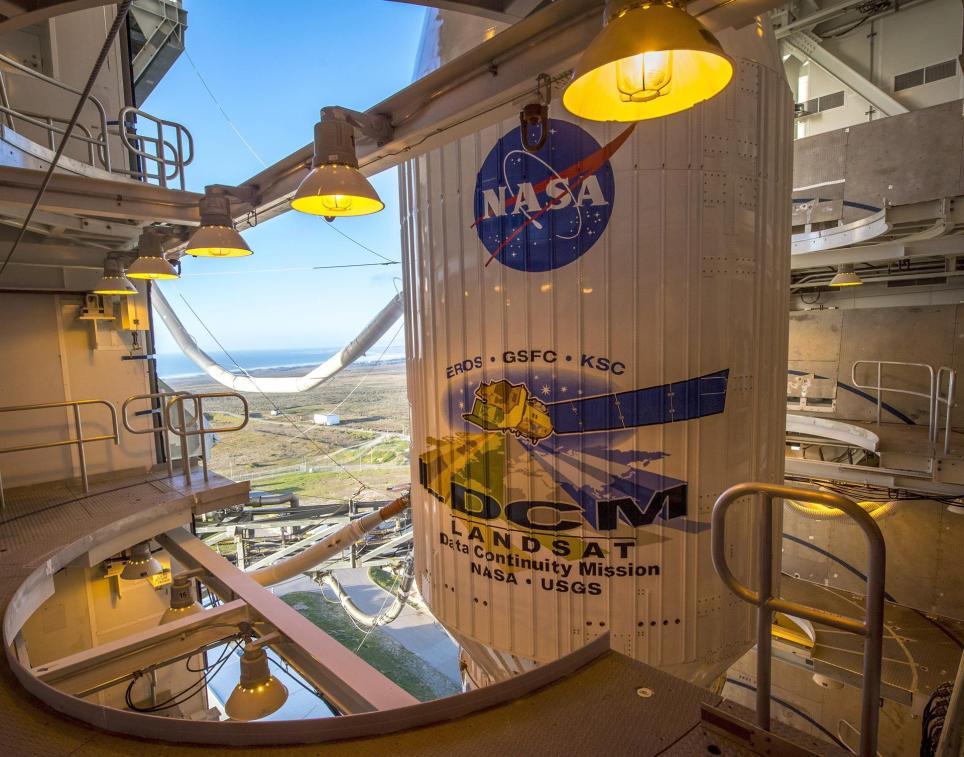 Imagen provista por la NASA que muestra el cohete Atlas-V de la United Launch Alliance (ULA). EFE/EPA/BILL INGALLS / NASA