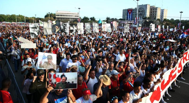 cuba protestas pro-Gobierno