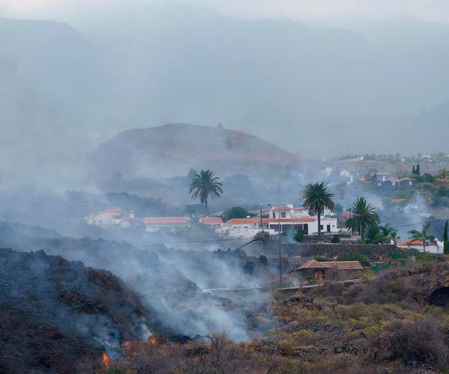 Volcán Palma migrantes
